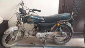 Yamaha Dhoom bike