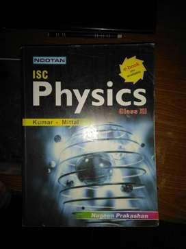 ISC physics class 12 nootan publication