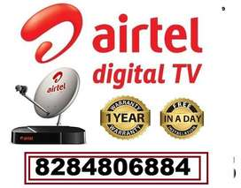 AIRTEL NEW DTH CONNECTION BEST OFFER