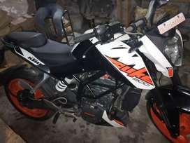 Duke 200 new condition  bike