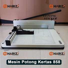 Mesin Pemotong Kertas 858 Merk HARIZO 1Rim Alat Potong Karton A3
