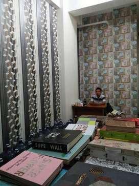 Wallpaper dinding lantai vinyl murah berkualitas