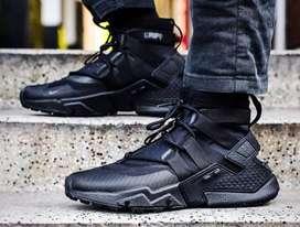Nike huarrache gripp triple black#SekutGan