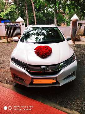Luxuary wedding car for rent (with driver only) honda city