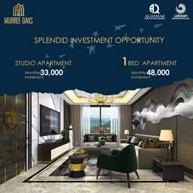 Get Rental 30 to 50,000 Value Studio for Sale Murree Oaks Apartments