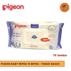 PIGEON BABY WIPES 70 WIPES - Tissue Basah Bayi