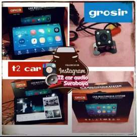 Terlaris canggih lega 2din ANDROID ASLI 10INC ORCA+camera hd grosir om