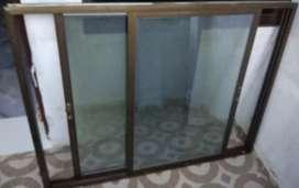 "Window Slider (Aluminum Section) 45"" x 58"""