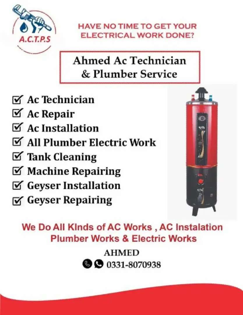 AC installation services and repair
