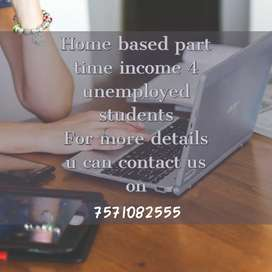 Free lancer / part time job offers for freshers
