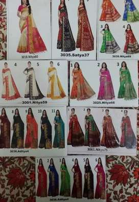 Exclusive sarees range from ₹299 only