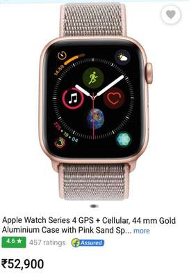 Apple watch 4 series 44mm gps+ cellular