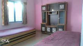Semi furnished house available for rent