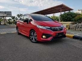Honda allnew jass RS cvt facelift nik.18 km.20 tgn.1 OTR krdt.210jt