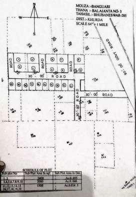 Residential plot sell at Hansapal, Rasulgarh
