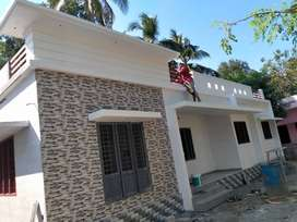 Thrissur, Vellanikkara, 3bhk stylish new villa in 3.500 cent