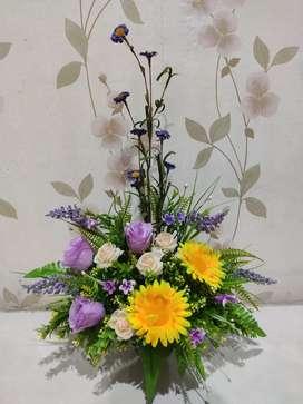 Bunga Pajangan ( palsu)