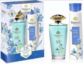 Yardley perfume and spray pack of two made in London