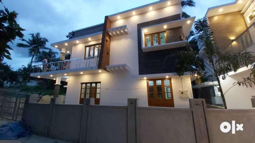 thrissur ollukara 4,600 cent 3 bhk new villa 0
