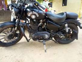 Royal Enfield specially modified at dilhi