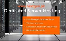 Dedicated Servers with 1Gb unlimited bandwidths, 24x7 Customer Support