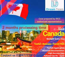 CANADA FAMILY VISIT VISA WITH MULTIPLES ENTRIES