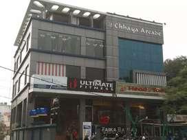 500sqft space available in Chhaya arcade complex nirala nagar