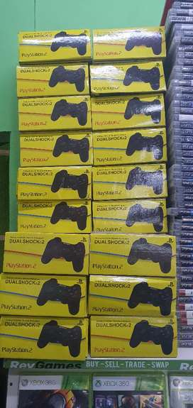 Ps2 contollers all original new and used starting from 300