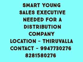 Wanted van sales executive
