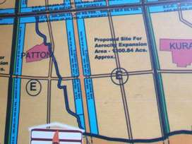 4000 GAJ LAND FOR SALE IN BLOCK G AEROTROPOLIS UNDER GMADA ACQUISITION
