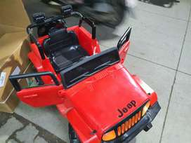Brand new kids electric motor jeep at clearance sale