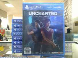 KASET PS 4 UNCHARTED THE LOST LEGACY