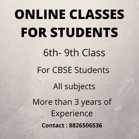 Online Tuitions for CBSE Students