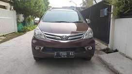 Toyota Avanza 1.3 G, 2014 Manual, Merah Metalik