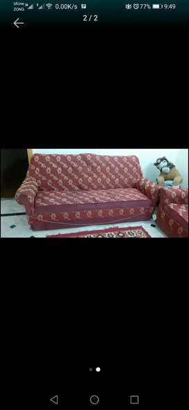 5 seatet sofa