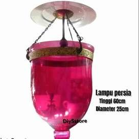 Lampu kristal persia/lampu gantung jadul/lampu hias/lampu antik