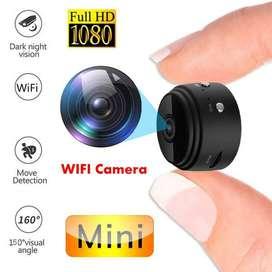 WiFi Mini Spy HD Camera Watch Live on Mobile Night Vision camera