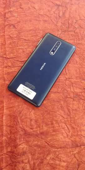Nokia 8 - 4GB / 64GB Tempered Blue (Brand New Condition)