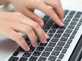 Urgent requirement for data entry candidate