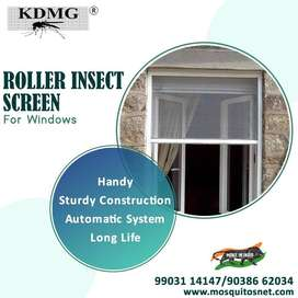 New Roller Shutter Mosquito Net Systems with Installation for Windows