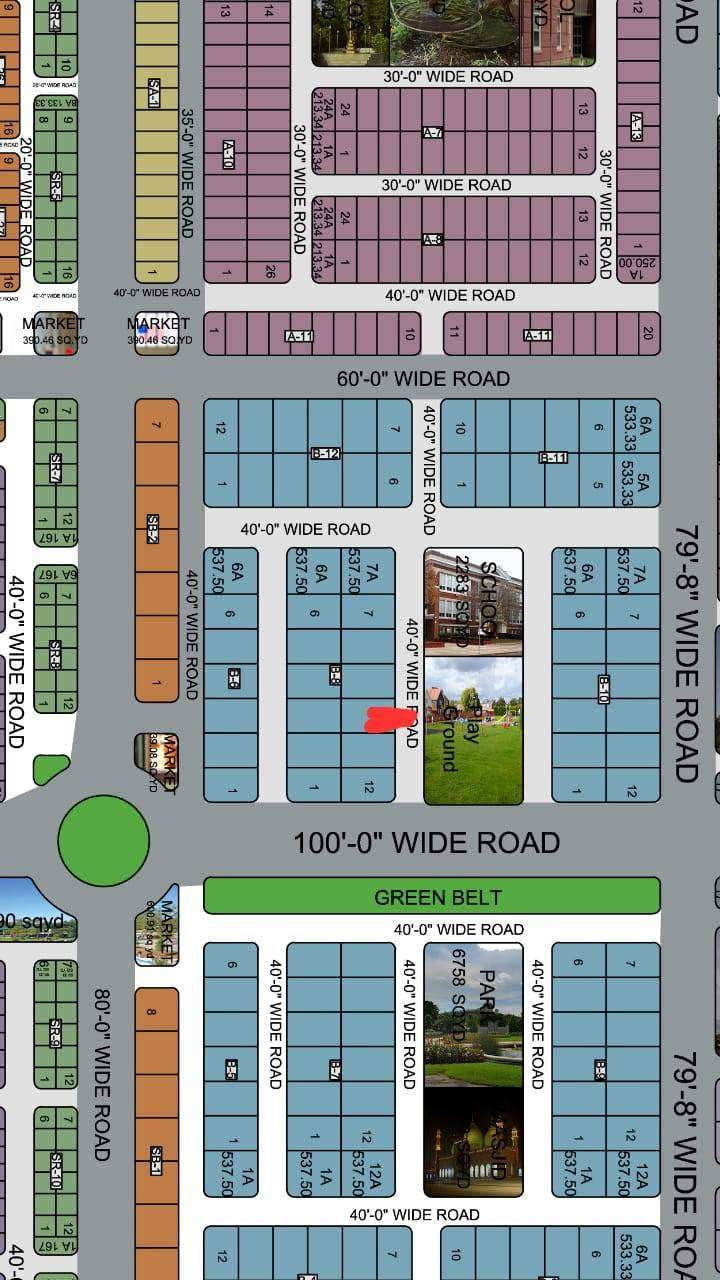Al Qaim Midway 400 Sq Yards Plot for sale on old prices 0