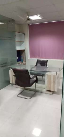fully furnished office available for rent.immidate.