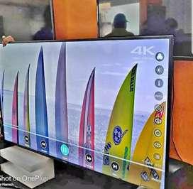 New box pack led tv UHD+4k+ ips+gorilla glass toll free nmbr 1yr wrnty