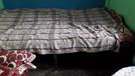 Iron foldable bed