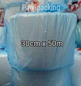 BUBBLE WRAP 30CM X 50M UKURAN ROLL KECIL  BUBBLEWRAP MURAH