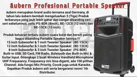 Speaker Portable Aubern BE-15CX BE-12CX PS-8DR