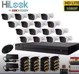 paket kumplit pasang kamera cctv full hd 2mp free pasang