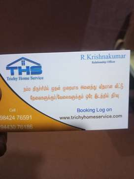 Trichy home service water tank cleaning work