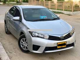 Toyota corolla 2017 Gli  corporate autpmobile Pvt ltd