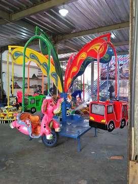 RST Pancingan ikan odong2 komedi putar safari kereta mobil IIW